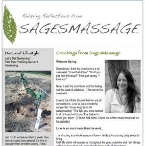 April newsletter screenshot